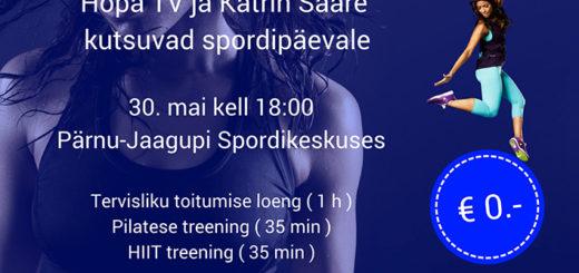 32c170919fa HopaTV ja Katrin Saare kutsuvad spordipäevale – JÄÄB ÄRA!!!