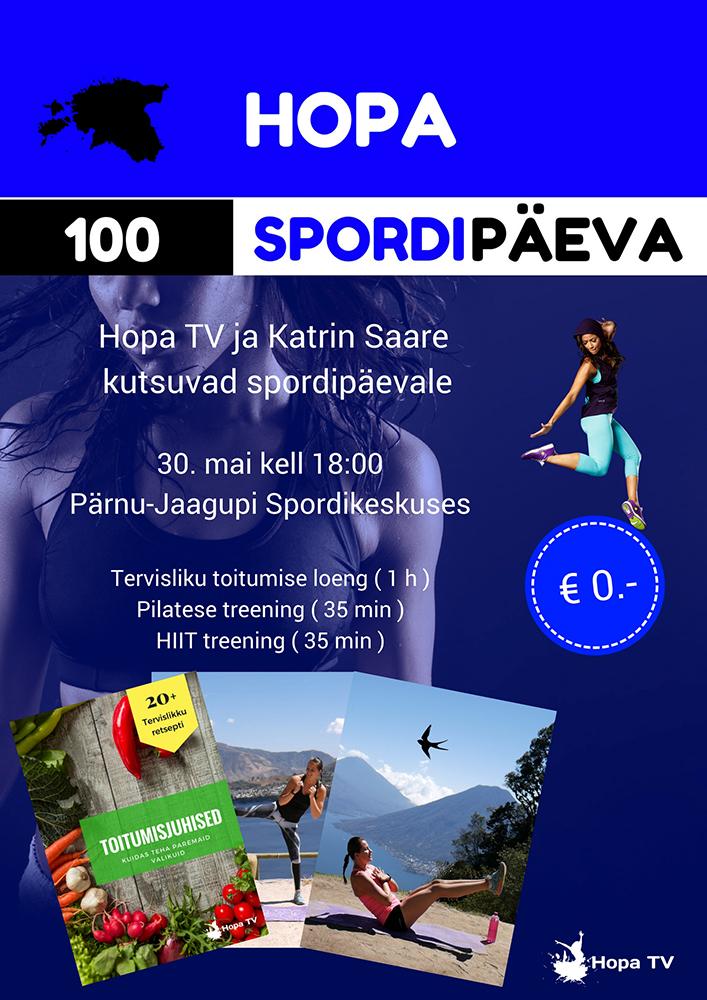 5fb050dc3f7 HopaTV ja Katrin Saare kutsuvad spordipäevale – JÄÄB ÄRA!!! – Pärnu ...